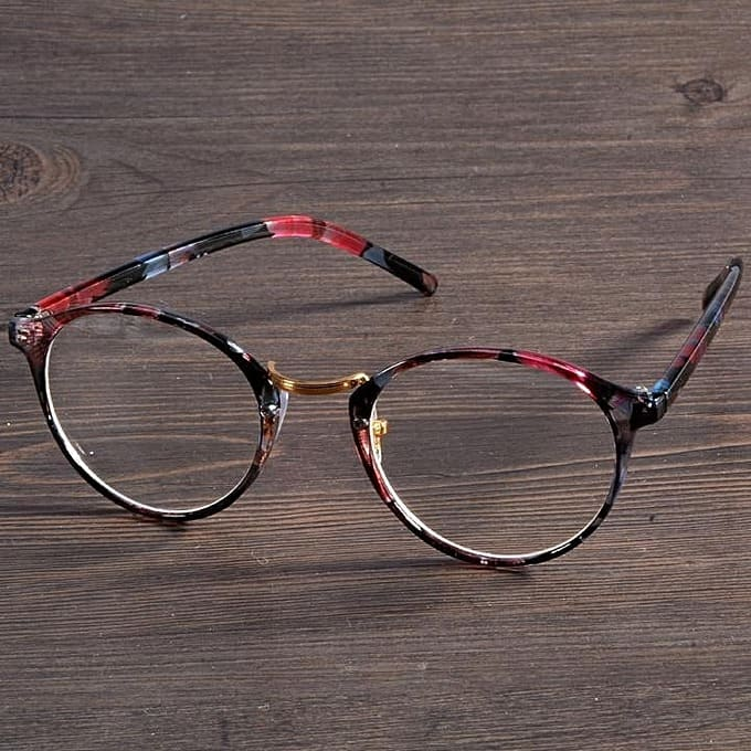 9f71a430ac ... Classic Fashion Floral Design Round Shape Eye Glasses (Multicolor).  -25%. 🔍. WATCHES   SUNGLASSES